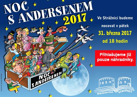 Noc s Andersenem - 31. 3. 2017 od 18.00