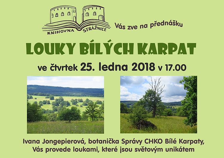 Louky Bilých Karpat - Jongepierová, 25. 1. 2018 v 17.00