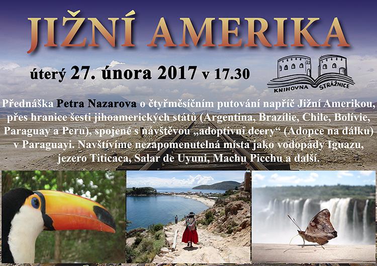 Petr Nazarov - Jižní Amerika, 27. 2. 2018 v 17.30
