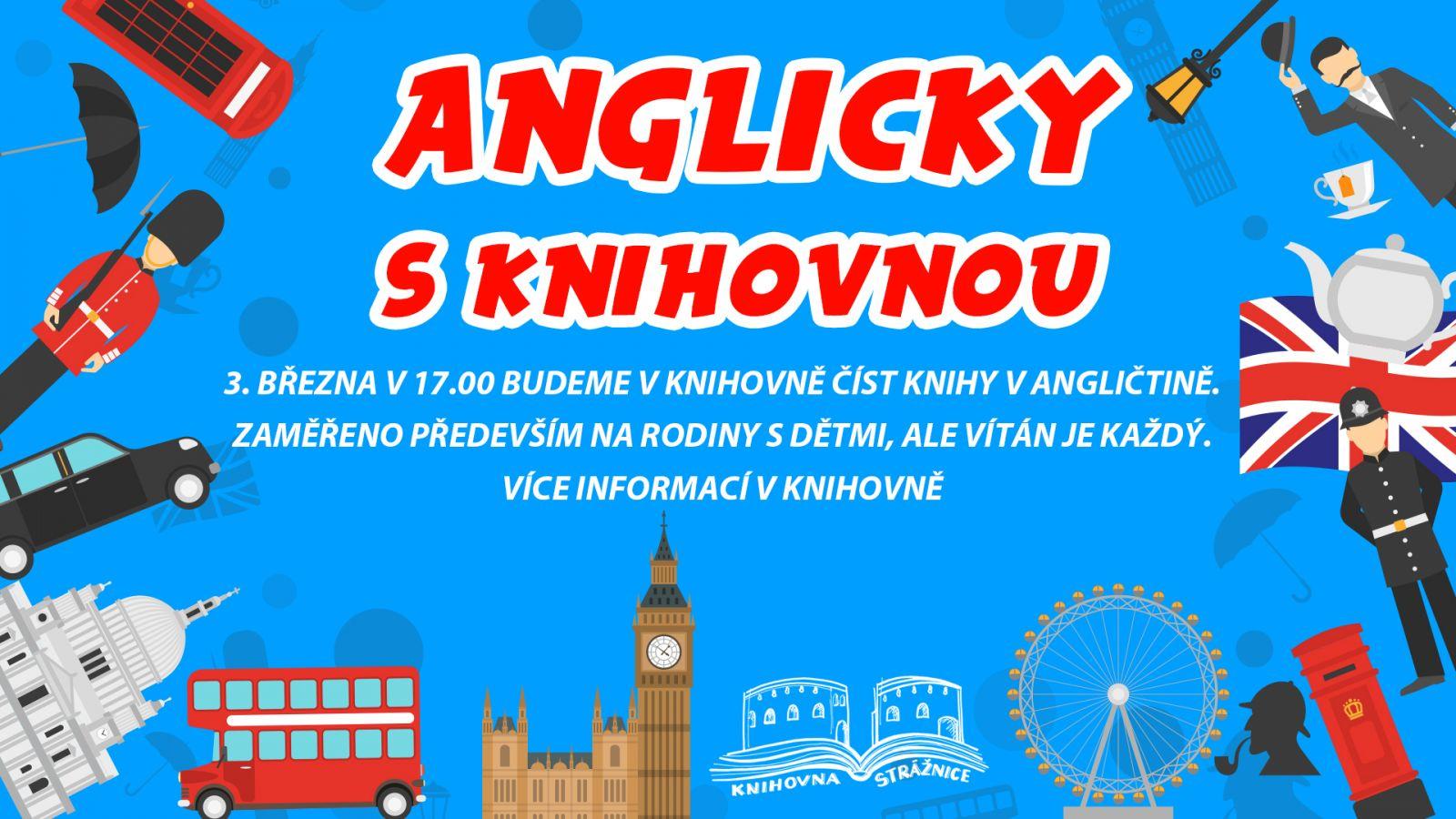 Anglicky s knihovnou - 3. 3. v 17.00